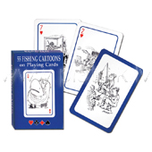 Playing cards  PIATNIK Fishing Cartoons